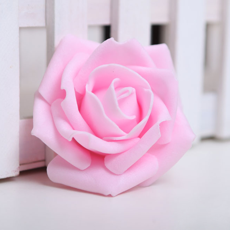 Sdfc 100pcs foam rose flower bud wedding party decorations sdfc 100pcs foam rose flower bud wedding party decorations artificial flower diy craft light pink in artificial dried flowers from home garden on mightylinksfo