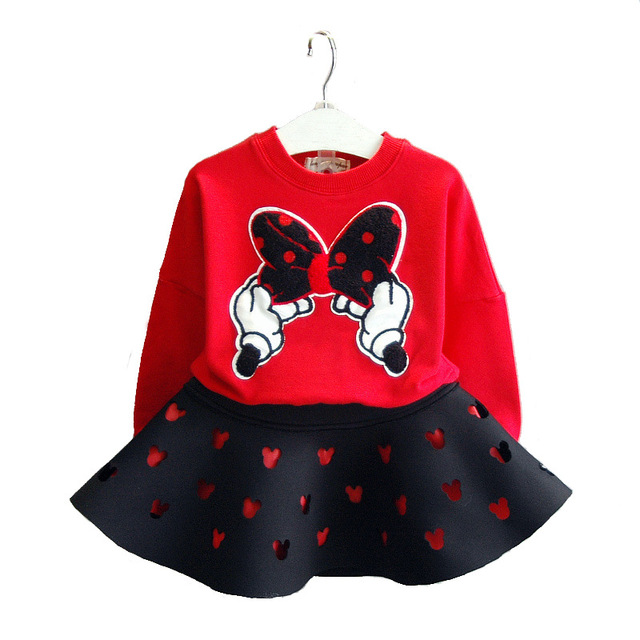 Baby Girls Clothing Set Autumn Girls Minnie Mouse Costume Kids Long Sleeve T-shirt+  sc 1 st  AliExpress.com & Baby Girls Clothing Set Autumn Girls Minnie Mouse Costume Kids Long ...