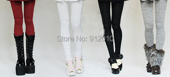 Fashion Free match Girl Leggings for BJD 1/6 YOSD 1/4 MSD, 1/3 SD10/13/16 IP EID Doll Clothes SK9 new handsome fashion stripe black gray coat pants uncle 1 3 1 4 boy sd10 girl bjd doll sd msd clothes