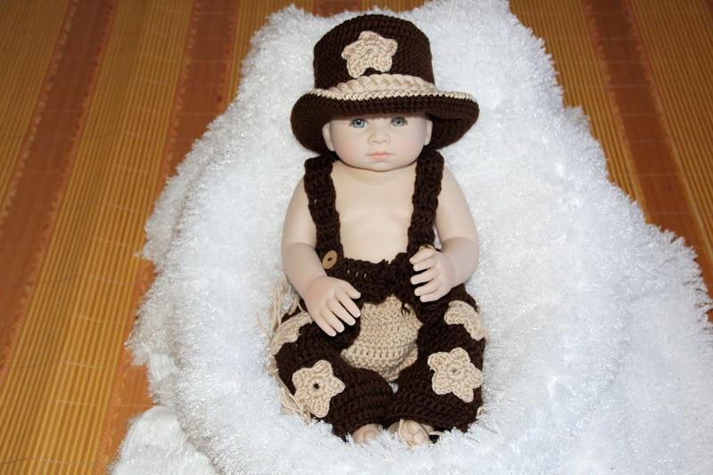 El envío libre, ganchillo bebé sombrero de vaquero, recién nacido ...