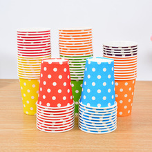 Lovely Polka Dot Disposable Party Tableware Cups Set