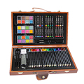 84 шт.  Детский набор для рисования  инструмент для рисования  кисть  элементарная цветная ручка  художественные маркеры  Обучающие принадлеж...
