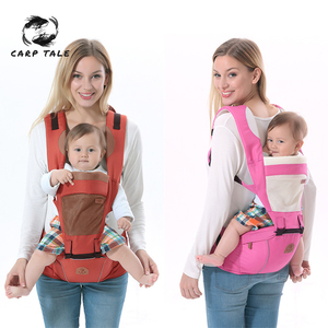 New Multifunction Outdoor Kangaroo Baby Carrier With Hood Sling Backpack Infant Hipseat Adjustable Wrap For Carrying Children