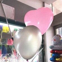 Wedding Decoration 36 Inch Helium Heart Latex Balloon