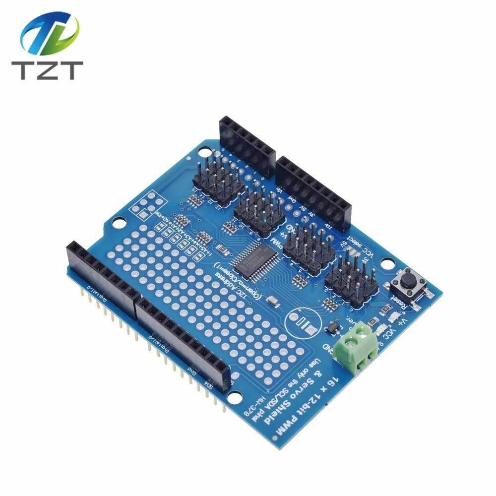 TZT teng Motor/Stepper/Servo/Robot Shield for Arduino I2C v2 Kit w/ PWM Driver TOP
