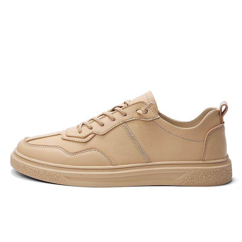 Respiráveis Homens Casuais Confortáveis Selvagem cáqui Nova Lisos De Das Simples Branco Brancos Alta Sapatilhas Moda Tendência Sapatos Qualidade Leve rvqcPrwF