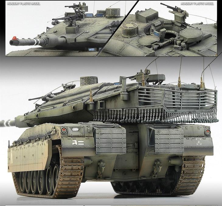 1/35 Mk.IV Israel Merkava LIC MBT 13227