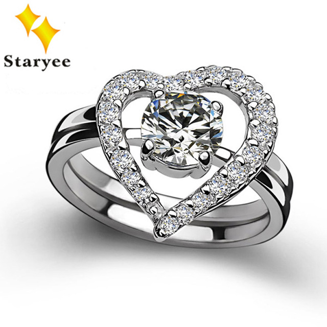 Perfect Match Real 14k Solid White Gold Moissanite