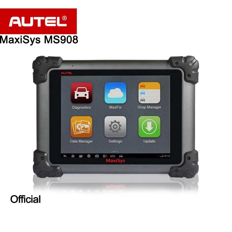 Autel MaxiSys MS908 автоматический диагностический сканер Беспроводной Инструменты для ремонта автомобилей транспортного средства диагностическ...