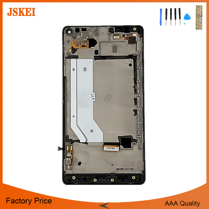100% test Pour Nokia Lumia 950XL lcd screen display digitizer écran tactile avec cadre ensemble complet Livraison Rapide + outils