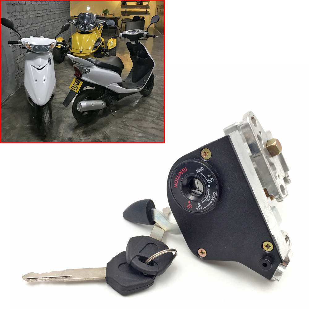 for YAMAHA EVO 50 taiwan RSZ JOG 6 generations ZR new motorcycle power door lock full lock start lock switch start engine lock