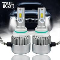 Guang Dian Car Led Light Headlight Head Lamp HIGH BEAM C6F 6000K White 12V 36W 9006