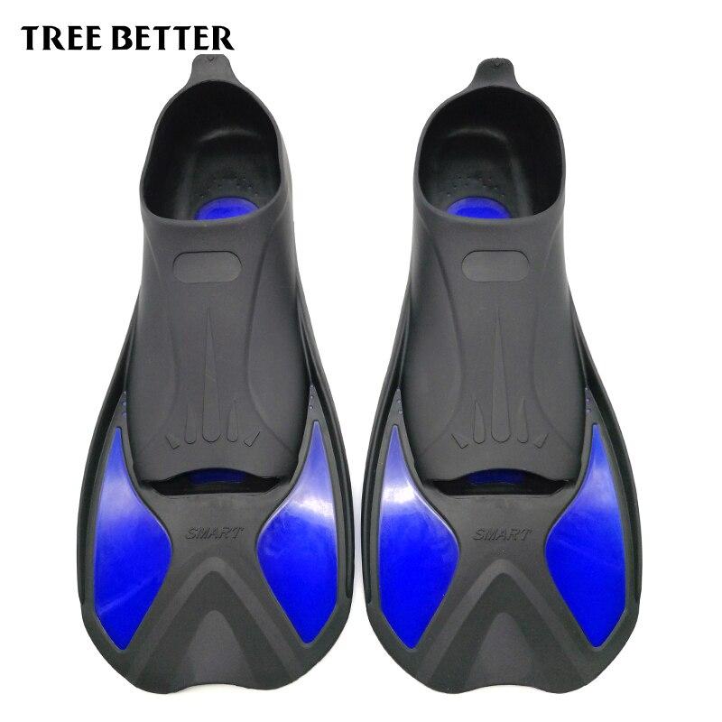 ÁRBOL MEJOR Pie Flipper NIÑOS Aletas de Buceo Aletas de Natación Snorkel Adulto Principiante Equipo de Natación Portátil corta zapatos de la Rana