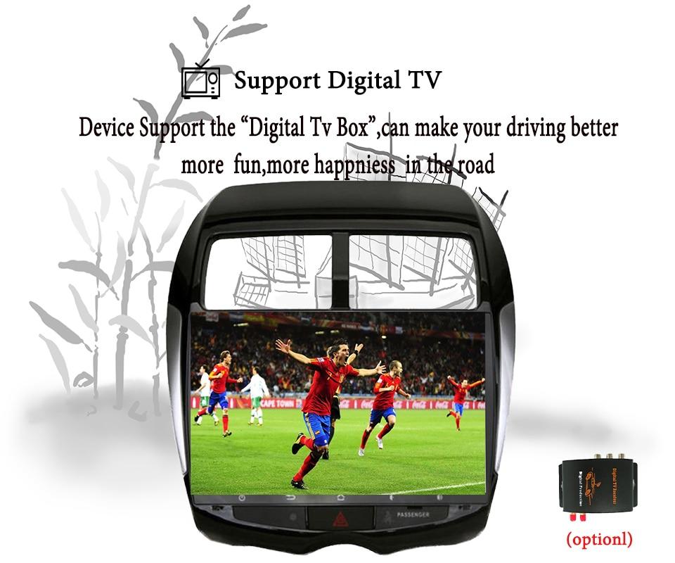 Android 9,1 Автомобильный мультимедийный dvd плеер gps навигация для MITSUBISHI ASX RVR Outlander Sport 2010 2014 магнитофон Аудио Видео - 3