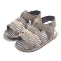Striped Pattern Baby Boy Sandals Toddlers Soft Sole Baby Shoes Infant Fashion Summer First Walkers Drop
