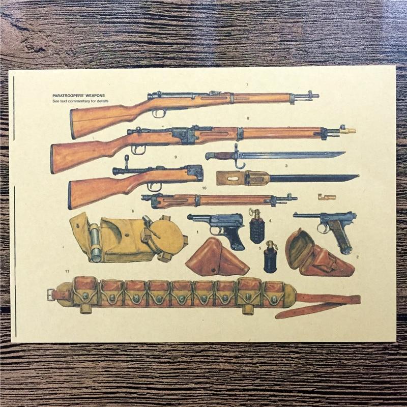 RMG-122 decoración de la casa pegatina de pared arma de infantería ...
