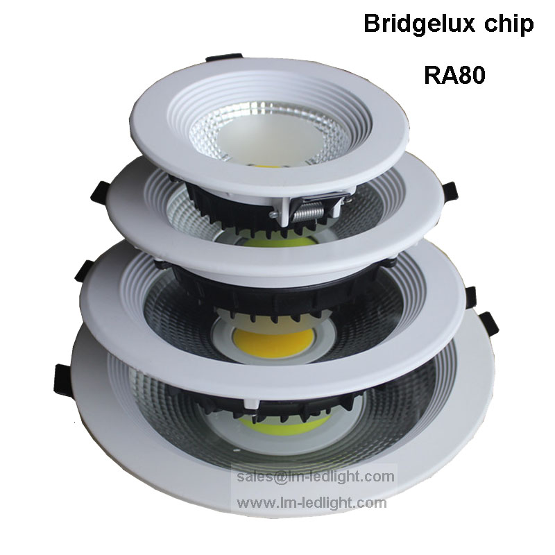85-265 В удара Светильники 10 Вт 20 Вт 30 Вт Встраиваемые пятно света COB Потолочный светильник обломок