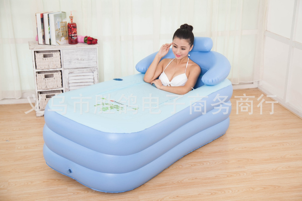 Vasca Da Bagno Gonfiabile Per Adulti : Gonfiabile piscina per adulti bambini tenere in caldo vasca da bagno