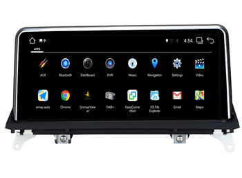 AISINIMI Android 9.0 PX6 Car Dvd Navi Player FOR BMW X5 E70/X6 E71 2007-2010 CCC or CIC System audio gps stereo auto all in one