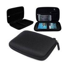 Жесткий Чехол сумка для Garmin Tomtom Sat 5 6 7 дюймов, защитный чехол для gps навигатора, посылка сумка для навигатора NAV