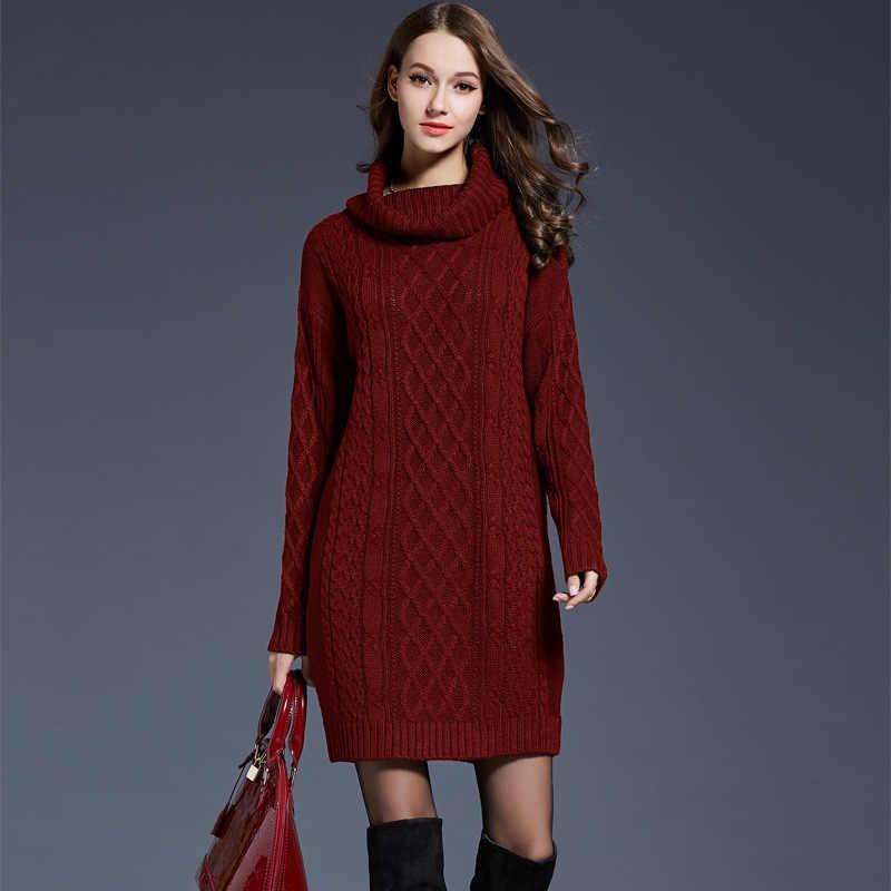 Женское Платье Осень Зима Стильное Купить