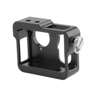 Gopro hero 4 3 + case aluminium beschermende behuizing case shell + filter len voor Gopro Gaan pro hero4 hero3 + camera accessoires