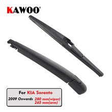 KAWOO Car Rear Wiper Blade Blades Back Window Wipers Arm For KIA Sorento Hatchback (2009 Onwards) 280mm Auto Windscreen Blade