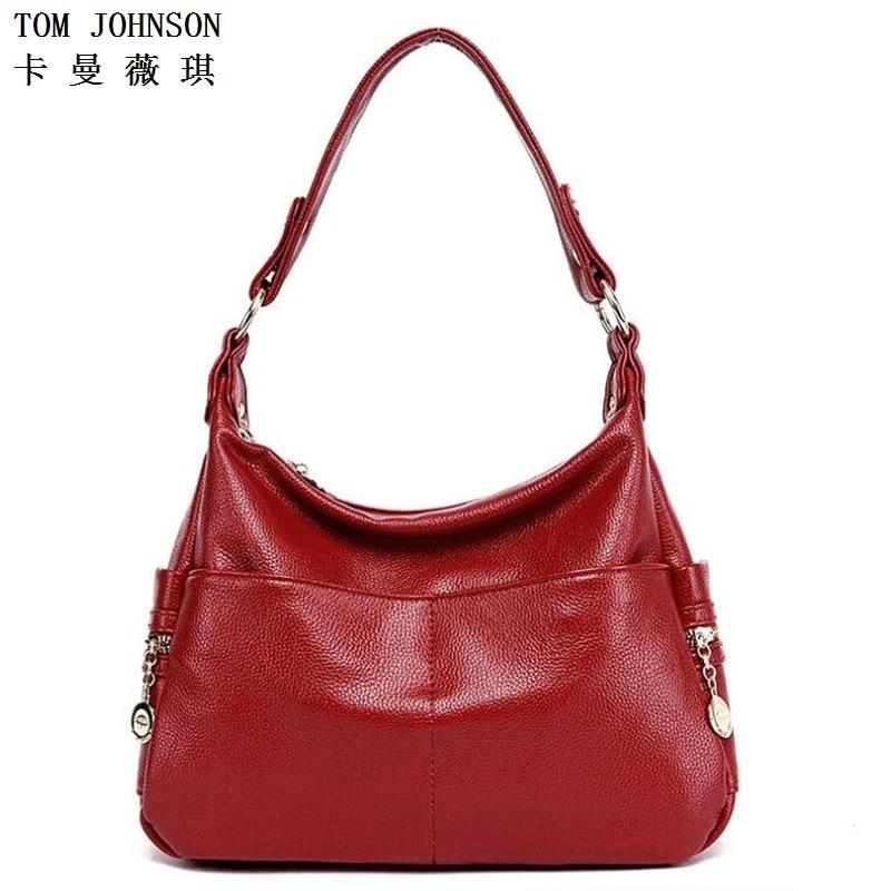 ФОТО 2016 Hobos Bags Handbags Soft Genuine Leather Women Shoulder Bag Big Capacity Solid Women High Quality Totes VR1019