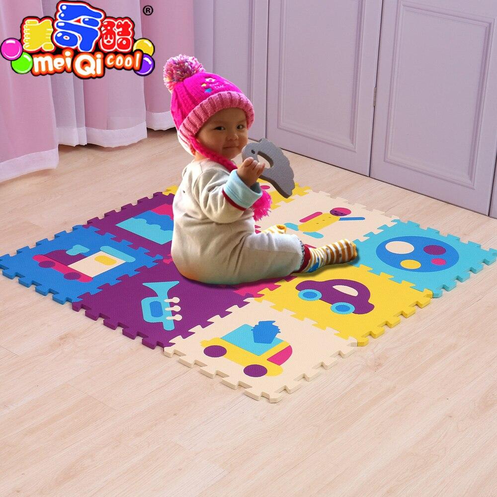Puzzle à emboîtement pour bébé tapis de jeu jeux pour ...