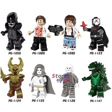 Enkele Super Hero Movie Serie Rode X man Alien Prometheus Ellen Heimdall bouwstenen model bricks speelgoed voor kinderen(China)
