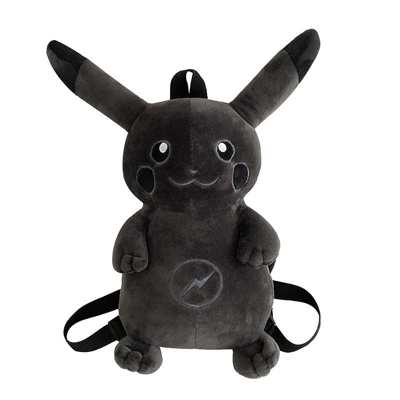 Cute Cartoon Pokemon Pikachu Children/'s Bag Plush Doll Backpack School Bag