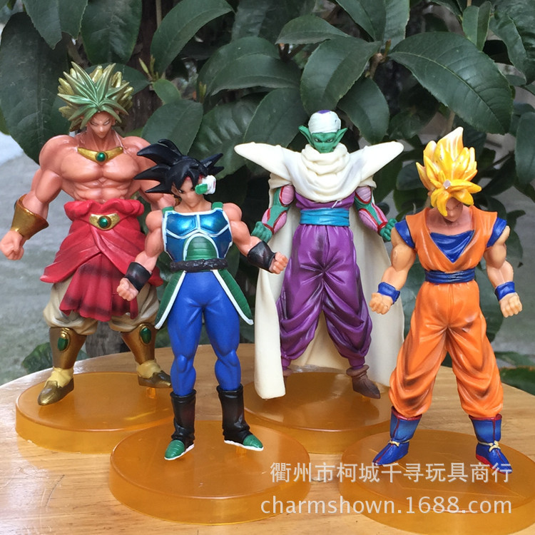 8-13cm Dragon Ball Z Goku Piccolo Action Figure PVC Collection figures toys for christmas gift brinquedos Free shipping lps pet shop toys rare black little cat blue eyes animal models patrulla canina action figures kids toys gift cat free shipping