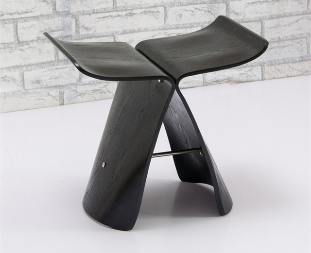 Butterfly Stool Made from Ash Plywood  6