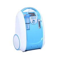 COXTOD 2 battery Home Portable Oxygen Concentrator Air Ionizer Cleaning Air Ozone with Car Adptor Battery and Carry Bag