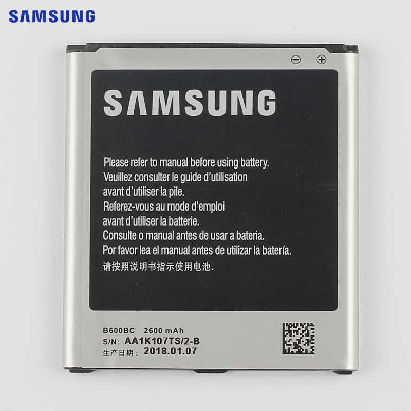 SAMSUNG Original Replacement Battery B600BC B600BE For Samsung GALAXY S4 I9500 I9502 GT-I9505 I9508 I959 2600mAh with NFC