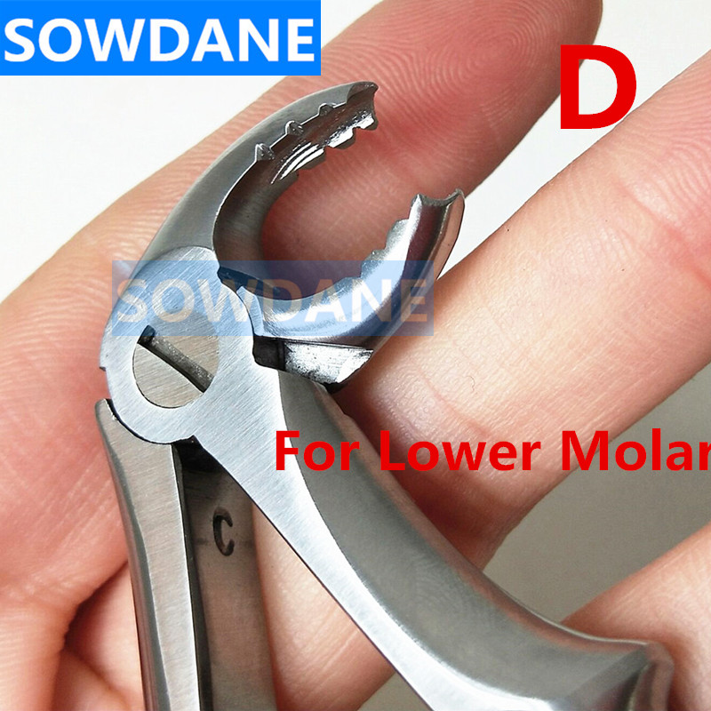 Dental Extraction Forcep Child S Kid Tooth Extracting Plier For Lower Molar Finger Grip With Hole High Quality Stainless Steel Aliexpress