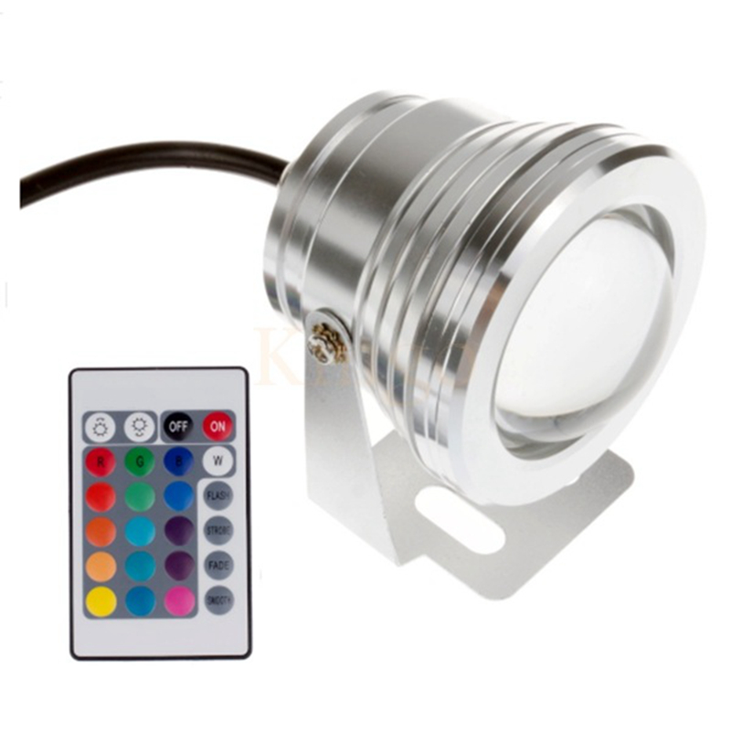 Led Lamps Led Underwater Lights Diligent Kingoffer Remote Control 10w 12v Water Resistant Rgb Led Underwater Light Lamp For Landscape Fountain Pond Waterproof Lighting