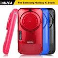 Для Samsung Galaxy K ZOOM Case Cover S5 Зум Капа для Samsung K ZOOM C1158 C115 Мягкие TPU Silicone Case iMUCA Телефон случаях
