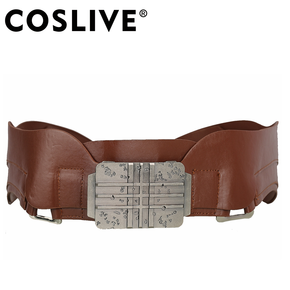 Coslive Guardians of the Galaxy Cosplay Star Lord Belt Adjustable Halloween Costume Cosplay Accessories For Fancy Dress Belt