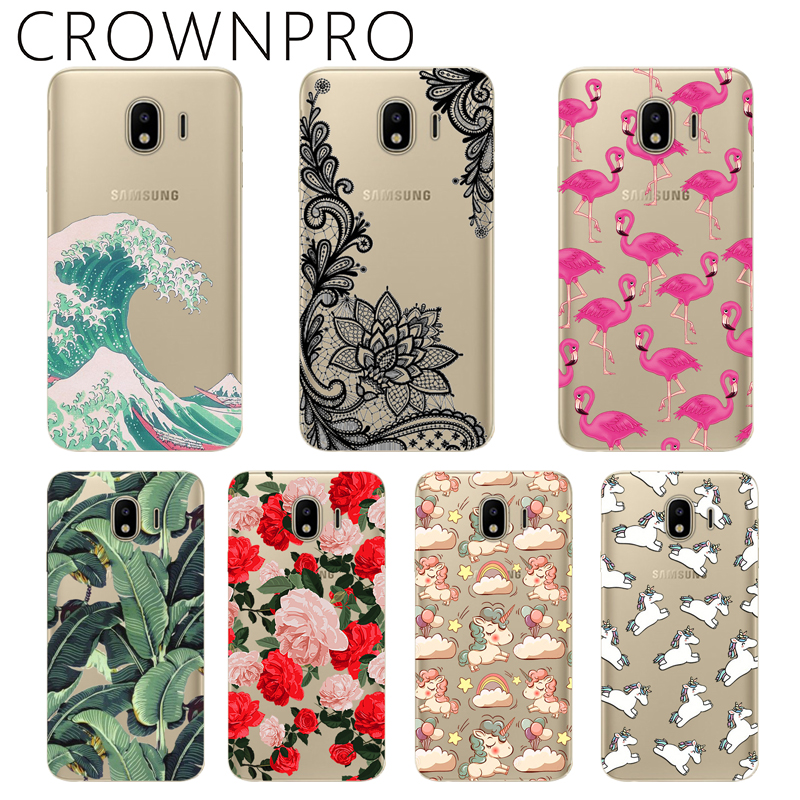 CROWNPRO Cover Phone J4 Plus Soft-Silicone Samsung FOR