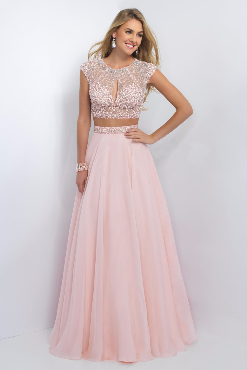 Online Buy Wholesale Blush Prom Dress From China Blush