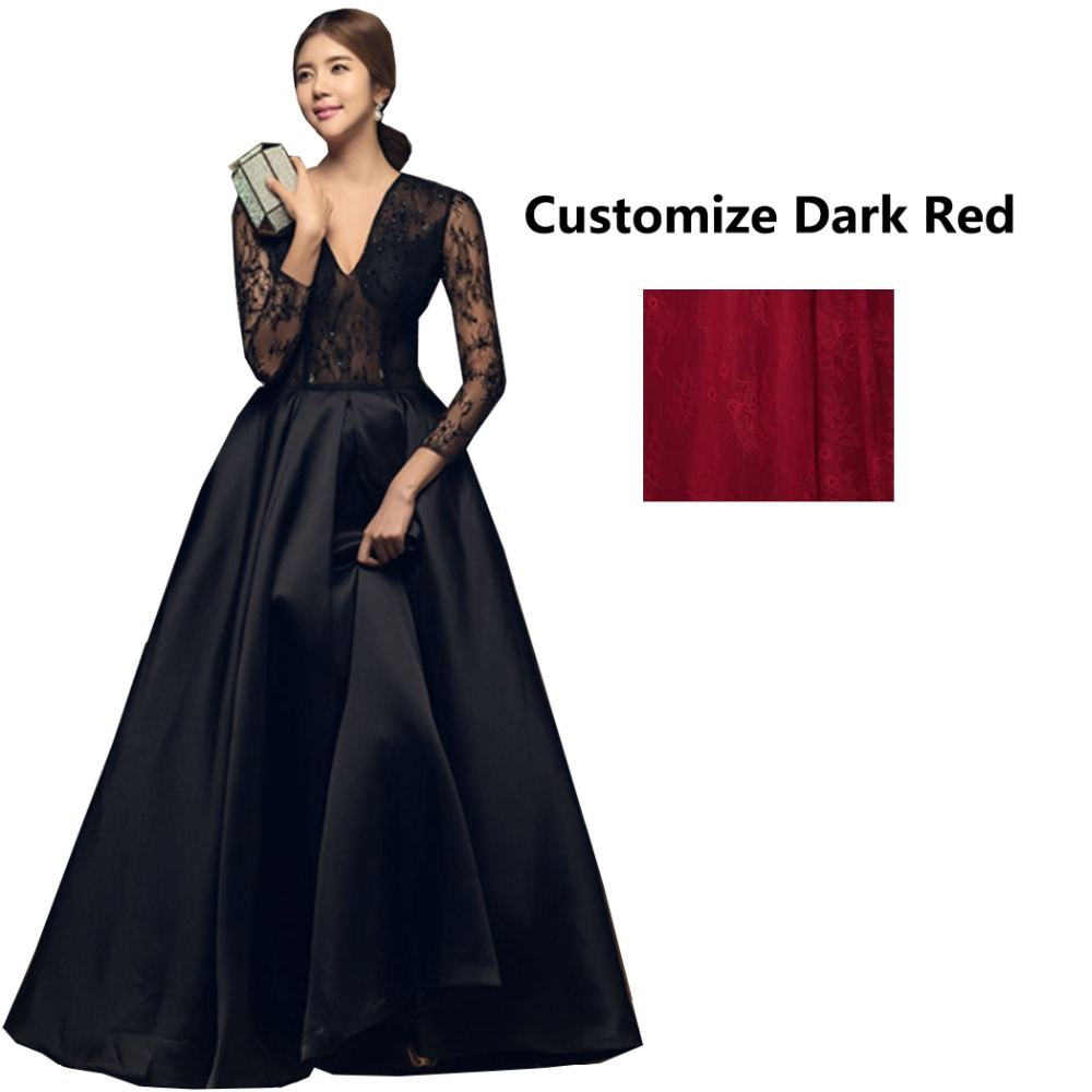 Купить женское вечернее платье в пол винтажный кружевной топ с длинными