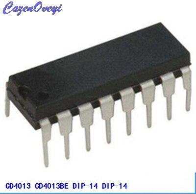 10 adet/grup CD4013BE DIP14 CD4013 DIP yeni ve orijinal IC10 adet/grup CD4013BE DIP14 CD4013 DIP yeni ve orijinal IC