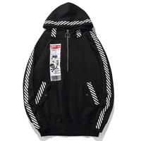 Plus Size Men 5xl 6XL 7XL 8XL hooded sweatshirt Long Sleeve Big size Men Oversized cotton Loose Zipper Hoodie Hiphop pullovers