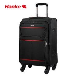 Hanke Weichen Tuch Koffer Wasserdicht Erweiterbar Gepäck Trolley Spinner Räder Roll Gepäck für Reise 20-28 Inch H8662