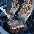 2016 Moda Estampa de Leopardo Assento de Carro Capas Para Sexy girl Acessórios Auto assento de automóvel cobre