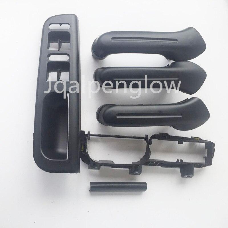 Black 3Pcs Interior Door Pull Grab Handle fit Fit for VW Passat B5.5 98-05 01 02