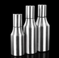 304 Stainless Steel Leak Proof Oiler Spice Jar Soy Sauce Bottle Kitchen Supplies Creative Cruet Vinegar