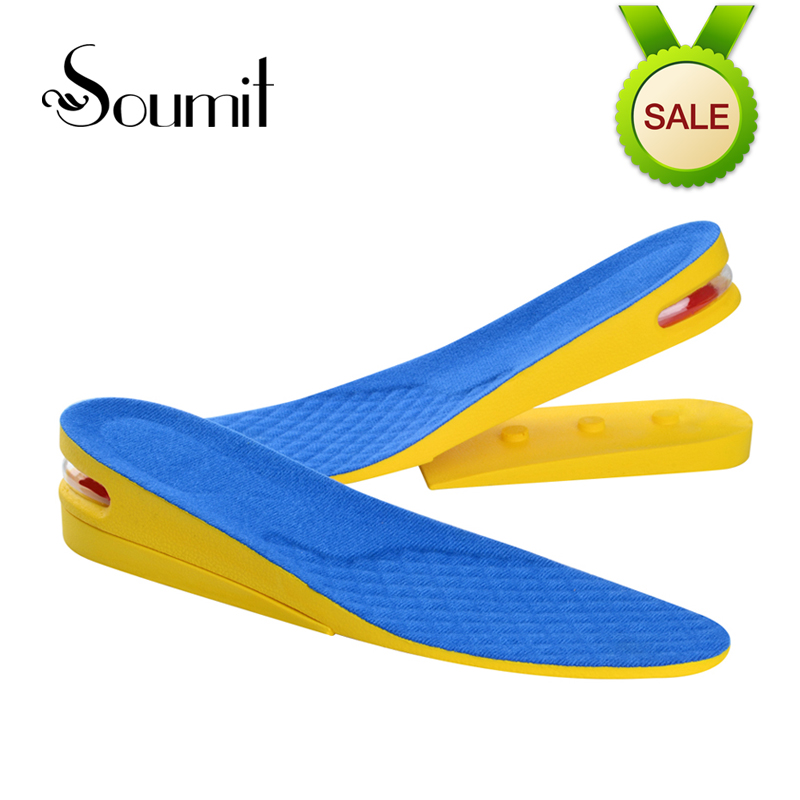 Soumit 2-Layer Invisible Height Increase Lift Heels Inserts Sports Shoes Insoles for Men Women Air Cushion Taller Insoles Pads dmiotech 20 pcs electric drill motor carbon brushes 10mm 11mm 13mm 17mm 6mm 7 5mm 7mm 8mm 9mm