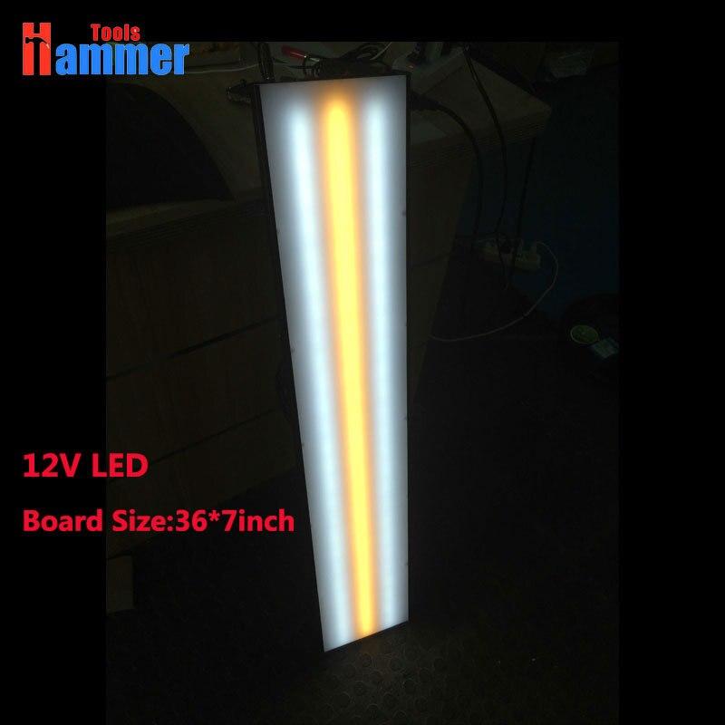 Светодиодная лампа для PDR KING, безболезненное тестирование кузова, инструменты для ремонта